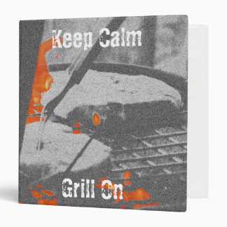 Keep Calm Grill On - Recipe Binder