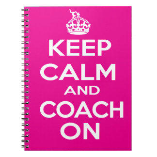 Keep Calm Gymnastics Coach Gift Notebook