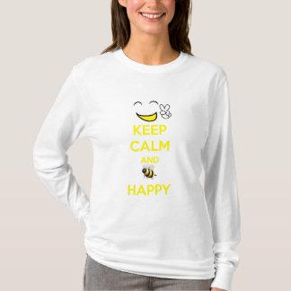 KEEP CALM HAPPY T-Shirt