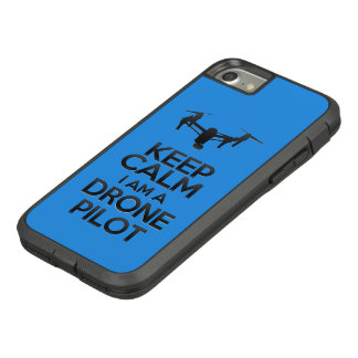 Keep Calm I a.m. Drone Pilot Case-Mate Tough Extreme iPhone 8/7 Case