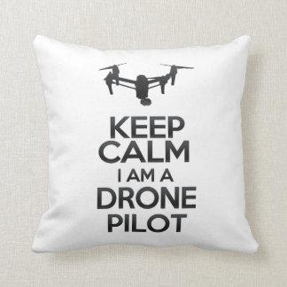 Keep Calm I a.m. Drone Pilot Throw Pillow