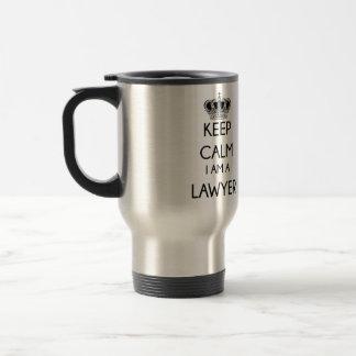 Keep Calm, I am a Lawyer Travel Mug