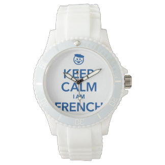 KEEP CALM I AM FRENCH WATCH