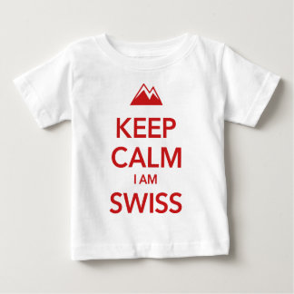 KEEP CALM I AM SWISS BABY T-Shirt
