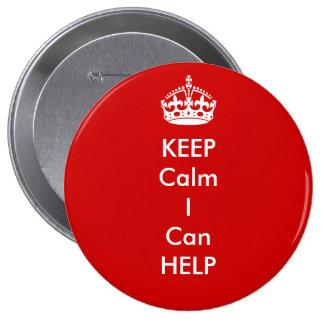 Keep Calm I can Help Button