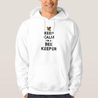 Keep calm I'm a beekeeper Hoodie