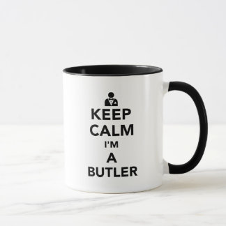 Keep calm I'm a butler Mug