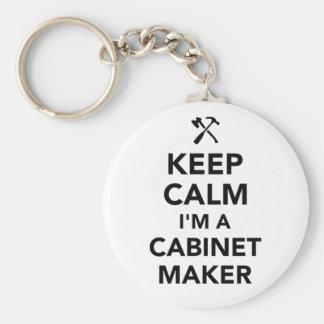 Keep calm I'm a cabinetmaker Keychain