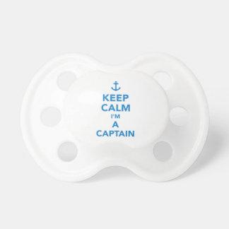 Keep calm I'm a captain Pacifier