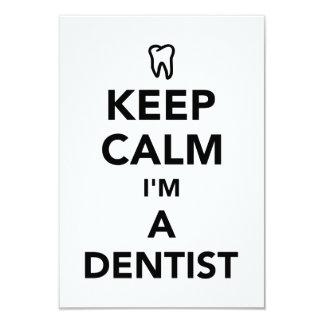 Keep calm I'm a dentist Card