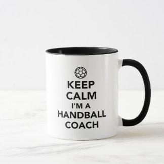 Keep calm I'm a handball coach Mug
