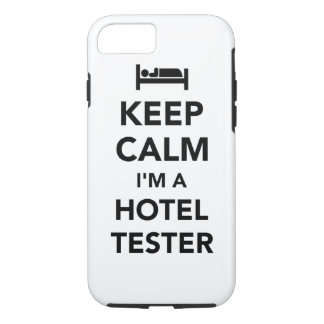 Keep calm I'm a hotel tester iPhone 8/7 Case