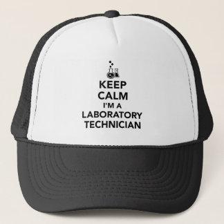 Keep calm I'm a laboratory technician Trucker Hat