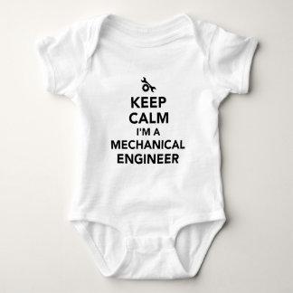 Keep calm I'm a mechanical engineer Baby Bodysuit