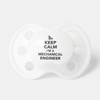 Keep calm I'm a mechanical engineer Pacifier