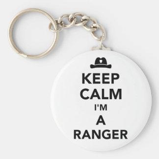 Keep calm I'm a ranger Keychain