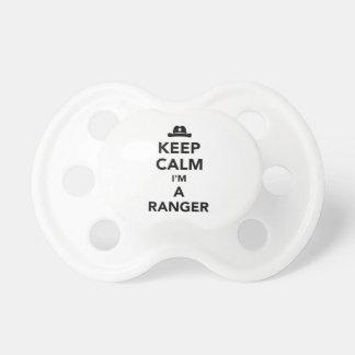 Keep calm I'm a ranger Pacifier