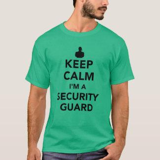 Keep calm I'm a security guard T-Shirt