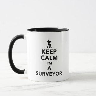 Keep calm I'm a surveyor Mug