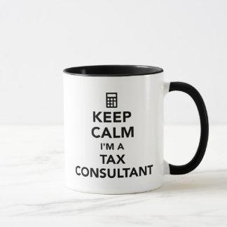 Keep calm I'm a tax consultant Mug