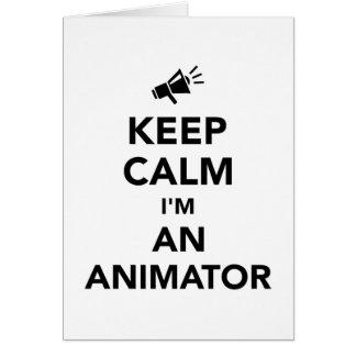 Keep calm I'm an animator Card