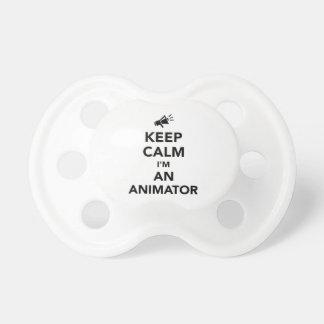 Keep calm I'm an animator Pacifier