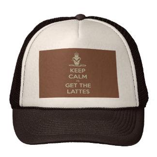 Keep Calm I'll Get the Lattes Trucker Hat