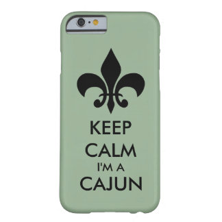 Keep Calm I'm A Cajun Tough Phone Case