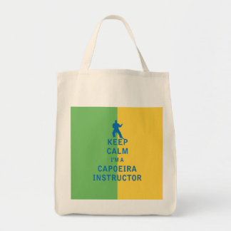 Keep Calm I'm a Capoeira Instructor Tote Bag