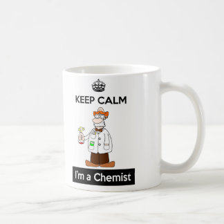 Keep Calm I'm a Chemist Mug