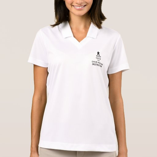 Keep Calm I'm a Chun Kuk Do Instructor Polo T-shirts