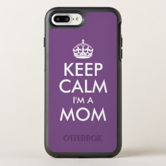 Keep Calm I'm a Mom OtterBox Symmetry iPhone 8 Plus/7 Plus Case