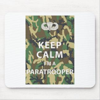 Keep Calm - I'm a Paratrooper Mouse Pad
