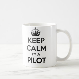 Keep Calm I'm A Pilot White Mug