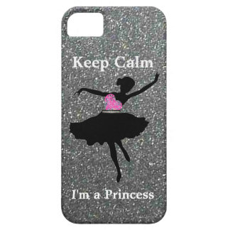 Keep Calm I'm a Princess iPhone 5/5S Case