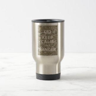 Keep Calm I'm A Ranger 15 Oz Stainless Steel Travel Mug