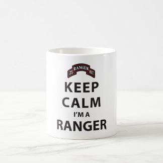 KEEP CALM I'M A RANGER COFFEE MUG