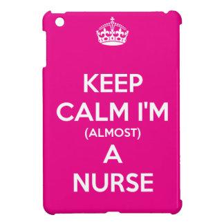 Keep Calm I'm (Almost) A Nurse iPad Mini Covers