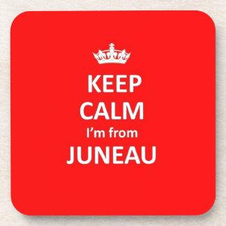 Keep calm I'm from Juneau Coaster