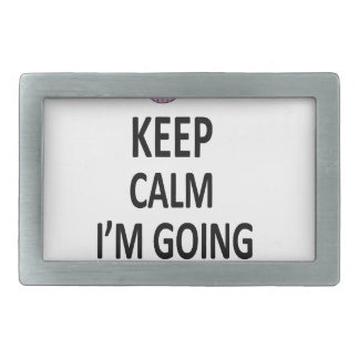 Keep Calm I'm Going To Be A Mommy Rectangular Belt Buckle