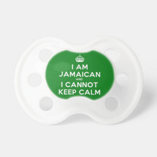 Keep Calm Im Jamaican Pacifier