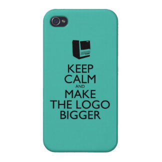 Keep calm iPhone 4 cases