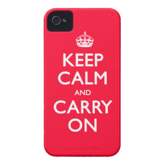 Keep Calm iPhone 4 Covers