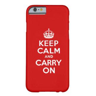 Keep Calm iPhone 6 case