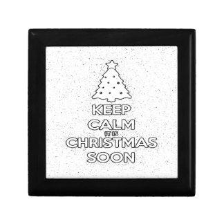 KEEP CALM IT IS CHRISMAS SOON.ai Gift Box