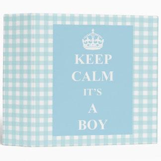 Keep Calm It s A Boy photo book Binder