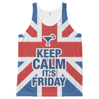 """Keep Calm it's Friday"" Funny relax chill"
