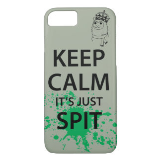 Keep Calm, It's Just Spit Case-Mate iPhone Case