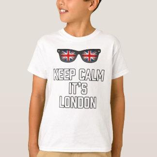 Keep Calm Its London T-Shirt