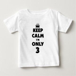 Keep calm it's my birthday baby T-Shirt